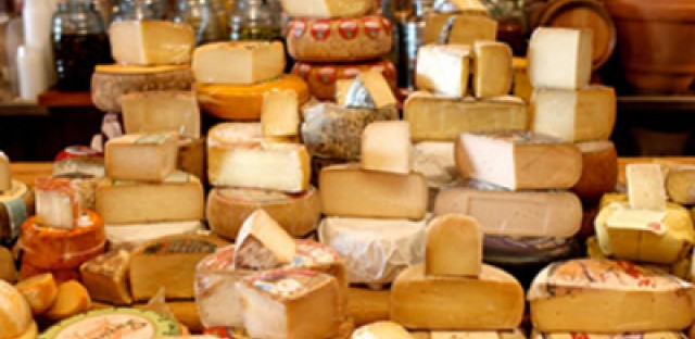 Top 5 places for cheese