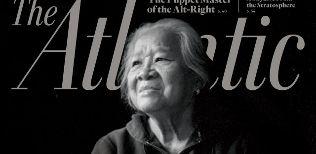 The June cover of The Atlantic.