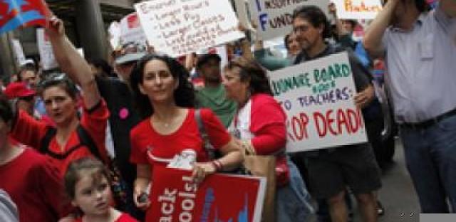 Chicago Teachers' Union president Karen Lewis discusses teachers' side of education debate