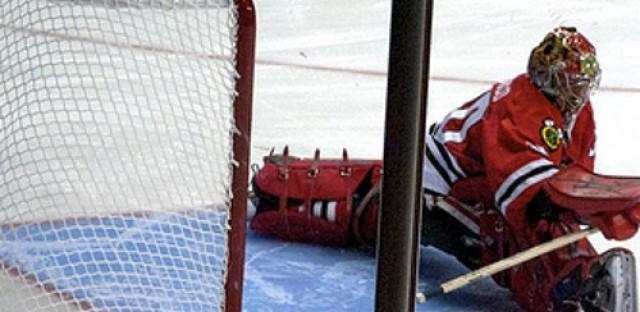 Hawks skate on toward the Cup