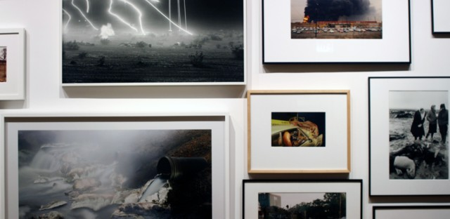"""Intense photos from acclaimed author and photographer Teju Cole's new exhibit, """"Go Down Moses,"""" are displayed on the third floor of the Museum of Contemporary Photography at Columbia College Chicago."""