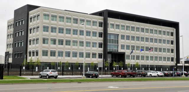The FBI's Minnesota headquarters in Brooklyn Center, shown in 2012.