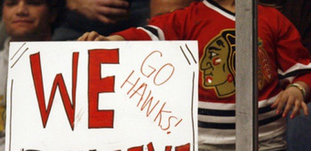 With two teams in a playoff series, how much longer will Chicago's good luck last?