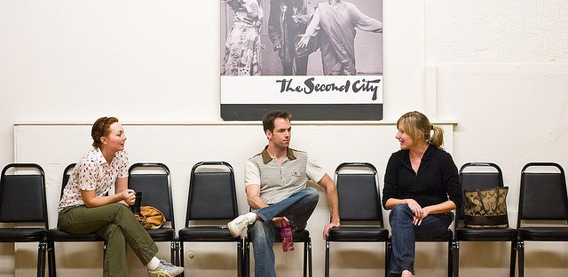 A class at Second City.