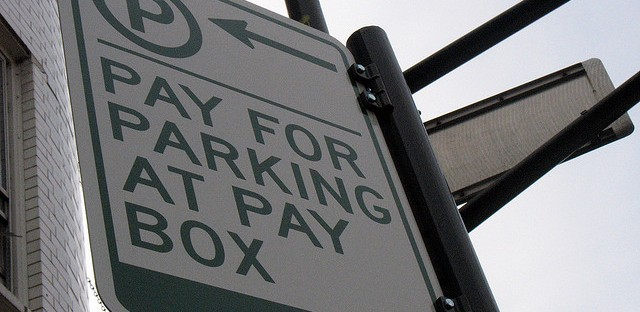 File: Chicago parking sign. The city council voted in changes to the city's parking meters on June 5.