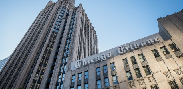 According to labor organizers, Tronc has agreed to recognize three separate bargaining units within the same union at its Chicago-area publications, including the Chicago Tribune.