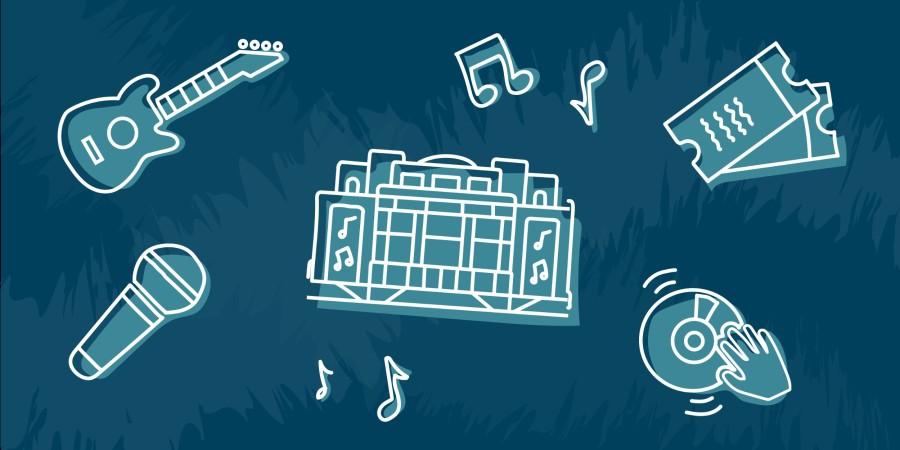 Biz Help Music Venues Illustrations