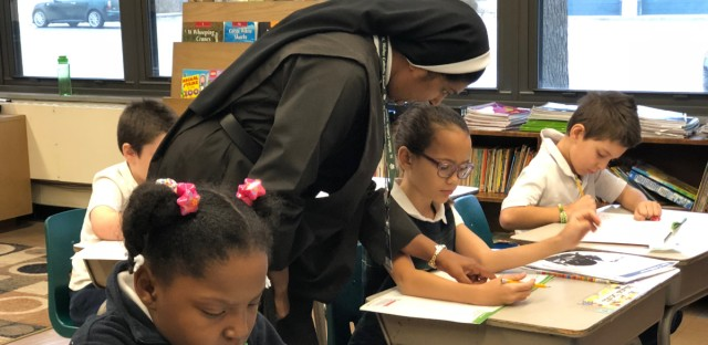 The state's private school scholarship program has been used at many Catholic schools, including St. Walter Catholic School in Chicago.