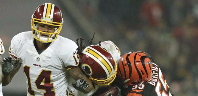 The Washington Redskins played the Cincinnati Bengals in London, Oct. 30. The game ended in a tie, a puzzling bellwether to say the least.