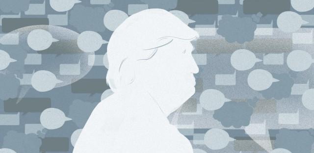 Donald trump twitter graphic