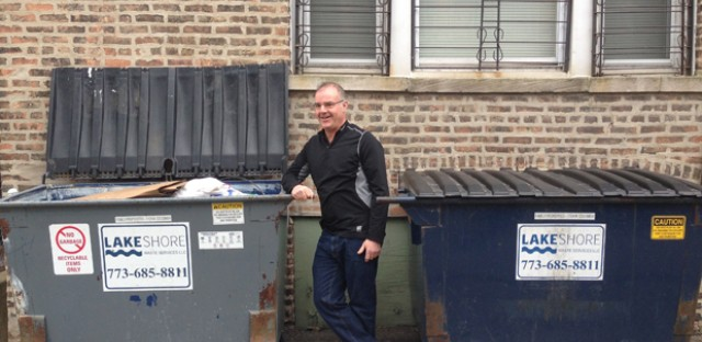 Gordon Magill is president of Family Properties in Chicago. He says recycling is a net-positive for him financially.