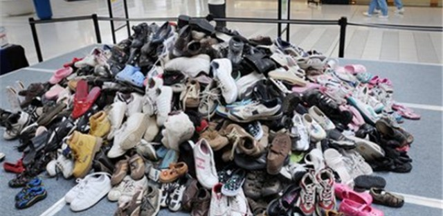Share Your Soles distributes shoes around the world