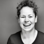 Chicago restaurateur and 'Iron Chef Gauntlet' winner Stephanie Izard at WBEZ studios. 2017