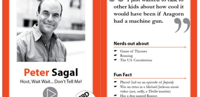 Peter Sagal on Game of Thrones, Harry Potter, and being a nerd before it was cool