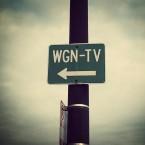 WGN TV Sign