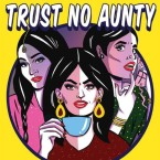 The cover of Hatecopy's book, 'Trust No Aunty'