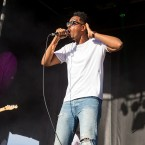 Amir Mohamed el Khalifa (Oddisee) performs onstage at the Sasquatch Music Festival at the Gorge Amphitheatre on May 30, 2016 in George, Washington.
