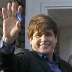 Former Illinois Gov. Rod Blagojevich waved goodbye to supporters in 2012, bound for a medium-security facility in Littleton, Colo., for his 14-year sentence on corruption charges.