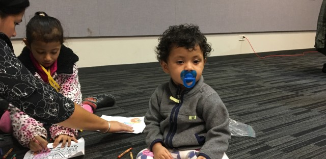 The refugee advocacy and resettlement organization Heartland Alliance is helping one Rohingya family that made it to Chicago last October.