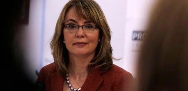Former U.S. Rep. Gabby Giffords was severely wounded in a 2011 shooting that killed six in Tucson.