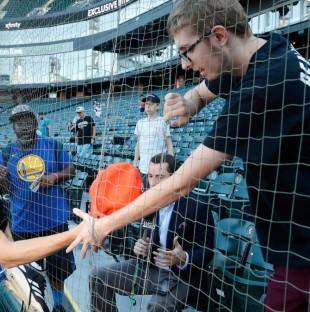 Sox netting fans