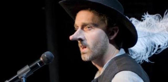 Getting nosy with Shawn Pfautsch as Cyrano