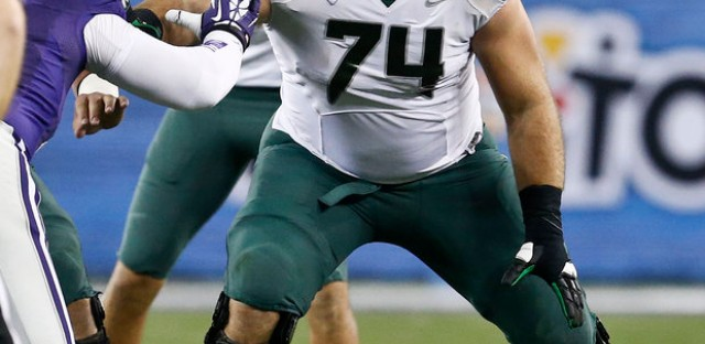 Bears reached out and took Oregon guard Kyle Long.