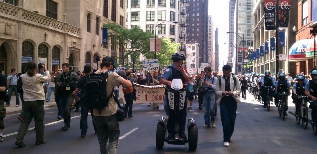 Photos: NATO protests come to Chicago