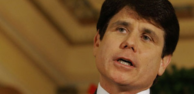 Was that Welles Park behind Blagojevich on the latest Daily Show?
