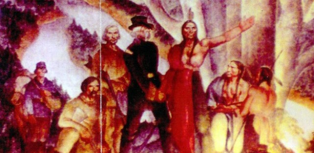 'Indians Cede the Land' by Smith
