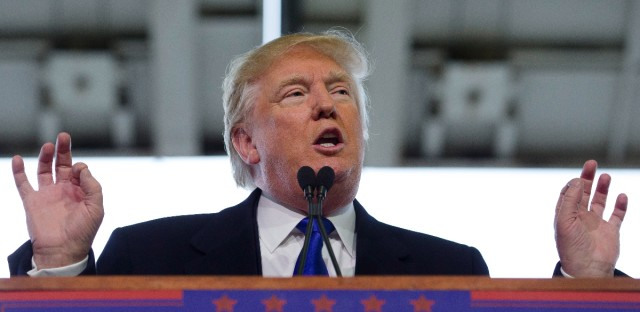 Donald Trump Campaign Stop