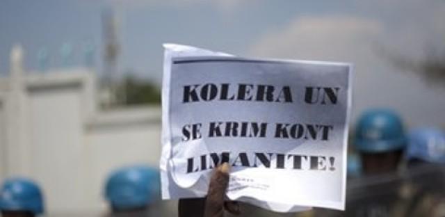 U.N. sued over cholera outbreak in Haiti