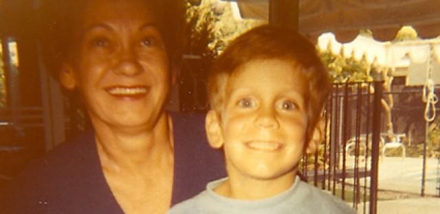 Bruce Lisker and his mother Dorka around 1970.