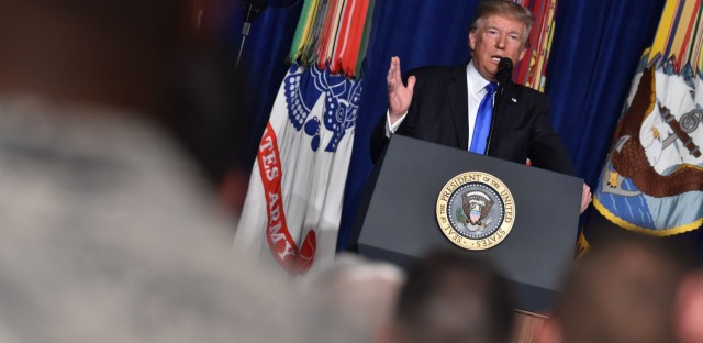 President Trump Unveils New Afghanistan Strategy