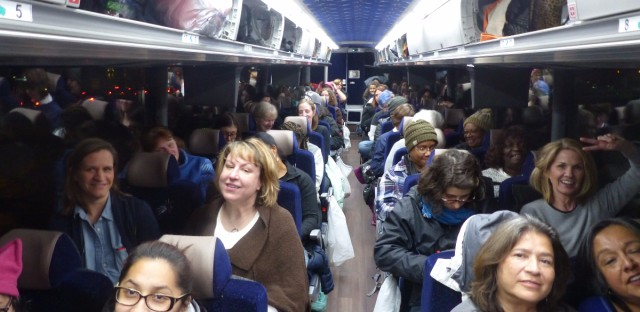 Busloads of Chicagoans are back home after traveling to Washington for the Women's March.