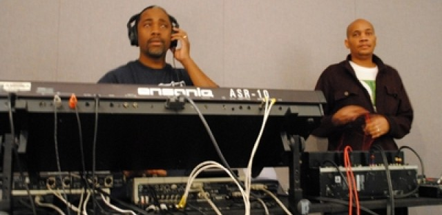 Aaron Smith, aka 'Isle of Weight' and Kevin Johnson, aka 'Mr. Echoes' are the duo behind The Opus.