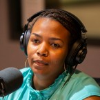 Mecole Jordan, an organizer with the Grassroots Alliance for Police Accountability, at the WBEZ studios on Wednesday, May 30, 2018.