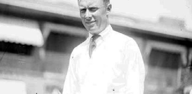 Evans in 1922