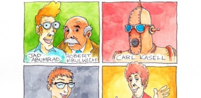 Artist sketches what NPR personalities look like based on voice