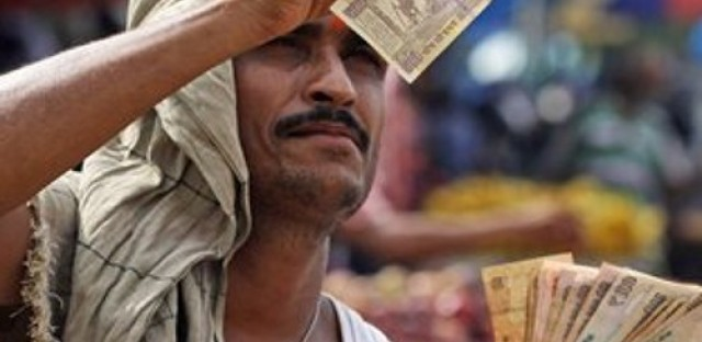 The declining value of the rupee raises concerns for India's economy