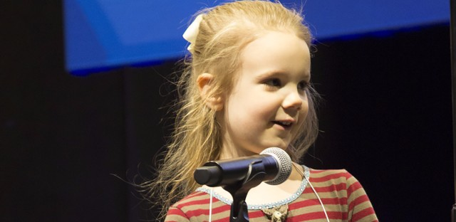 Edith Fuller, 5, outlasted much older competitors in a regional spelling bee, earning a spot in the Scripps National Spelling Bee in May.