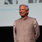 Nobel Prize winner Mohammad Yunus and social entrepeneurship