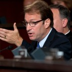 Congressman Peter Roskam, R-Ill., speaks on Capitol Hill in Washington. Roskam is a member of the House Select Committee on Benghazi on Sept. 17, 2014.