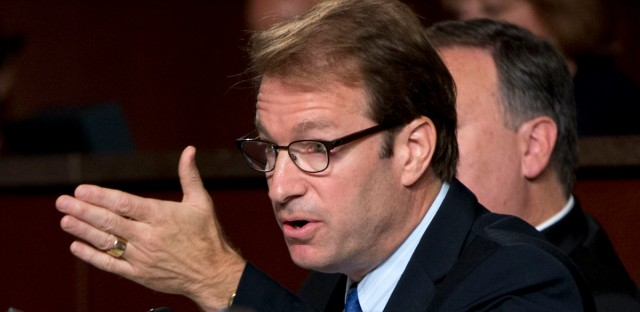 Congressman Peter Roskam, R-Ill., speaks on Capitol Hill in Washington on Sept. 17, 2014.
