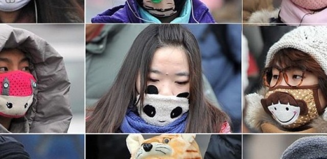 Out of the dust: pollution masks a trend in China
