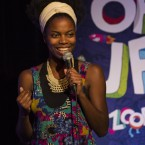 Sasheer Zamata performs at the Just For Laughs festival in Montreal.