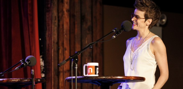 Ask Me Another : Jenn Colella And The Phantom Broadway Tattoo Image