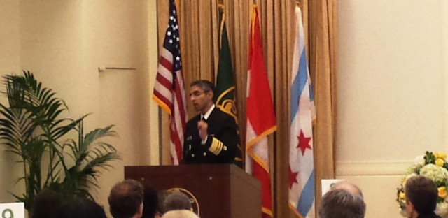 Surgeon General Vivek Murthy breaks his quiet on nutrition and says it will be a big part of his tenure