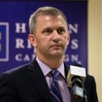 Democratic candidate Sean Casten for Illinois' 6th Congressional District at the Sierra Club in Chicago on Wednesday, Oct. 3, 2018.