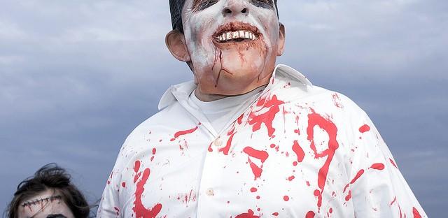 Zombie Mitt Romney.